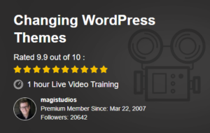 How to change a WordPress Theme