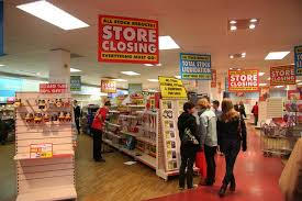 retail business closing down