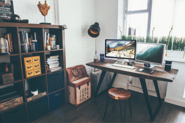 home office to start a great business from