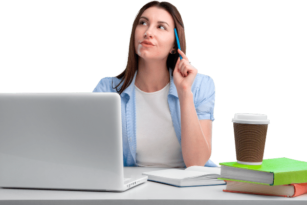woman considering what are the best affiliate marketing niches right now