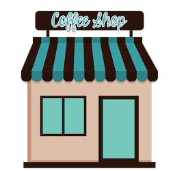 image of a high street business coffee shop. What is the best business to start