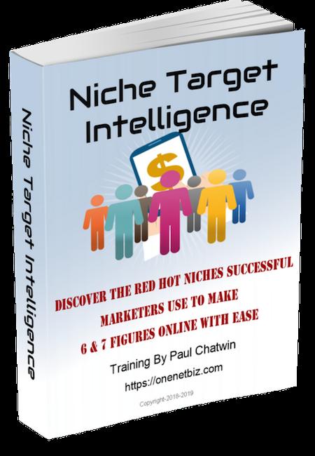 E-Book Niche Target Intelligence