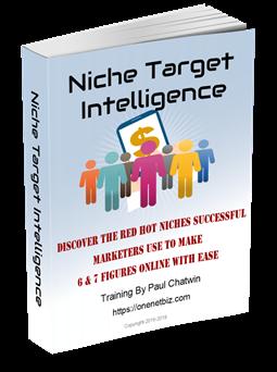 Free Ebook. Niche Target Intelligence