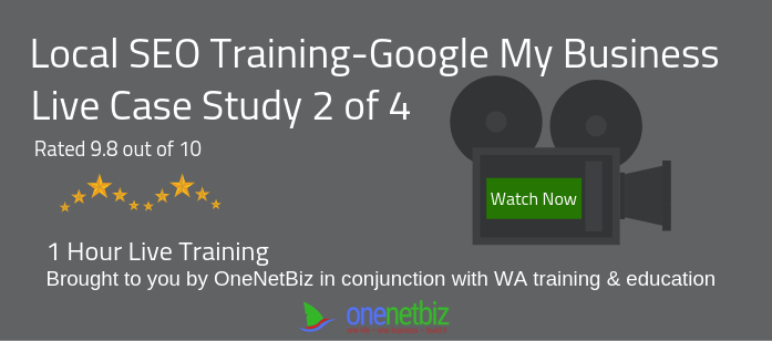 SEO Training Google My Business