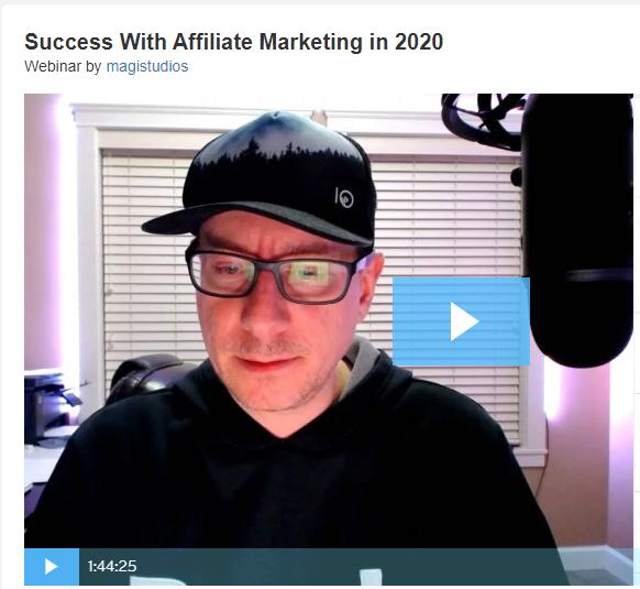 Success in 2020 training video