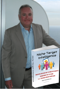 Paul with Niche Target Intelligence ebook