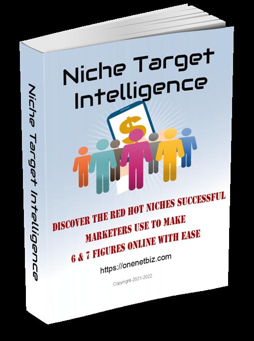 Niche Target Intelligence e-book